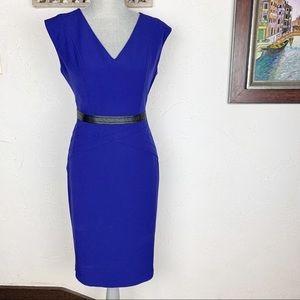 Evan Picone Black Label | Royal Blue Dress